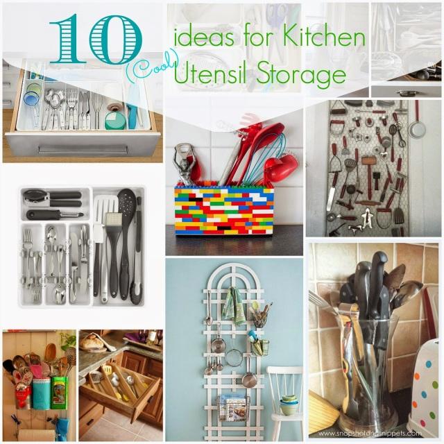 Top Ten Utensil Storage