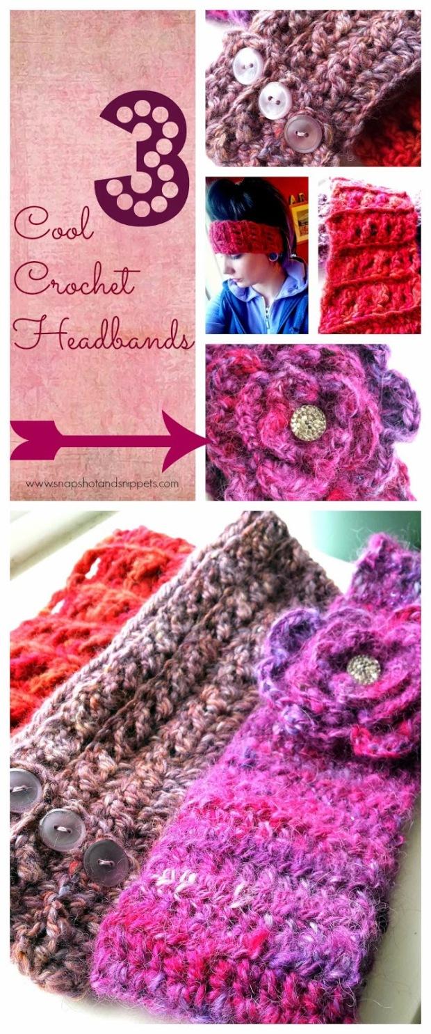 Crochet Headwarmers